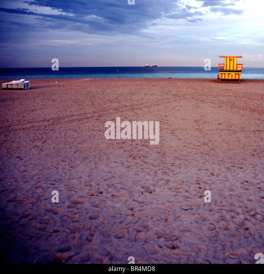 South Beach, Miami - Stock Image