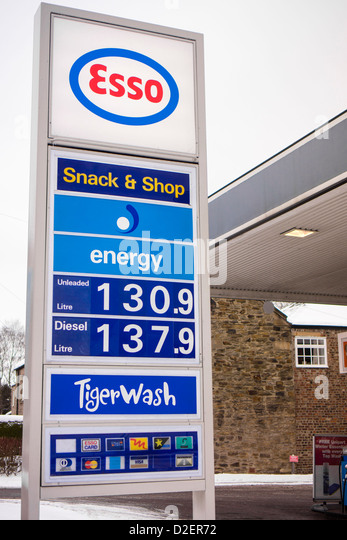 how to read petrol prices in uk