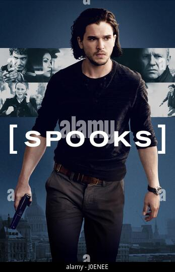 KIT HARINGTON POSTER SPOOKS: THE GREATER GOOD (2015) - Stock Image