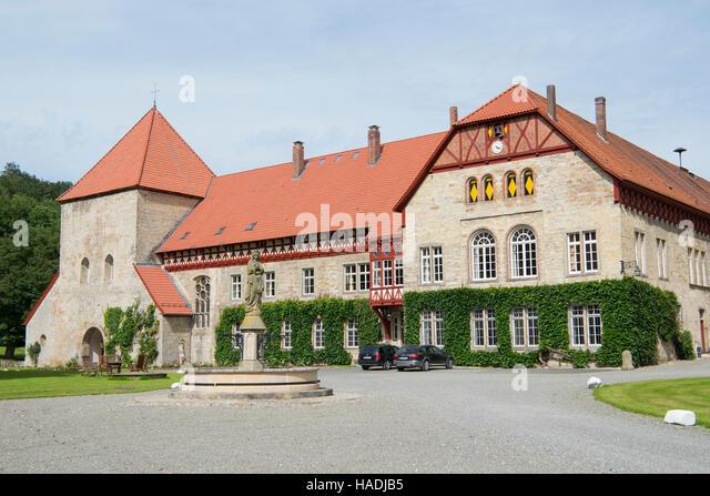 Deutschland, Nordrhein-Westfalen, Büren, ehemaliges Kloster (Kanonissenstift) und heutiges Gut Böddeken - Stock Image