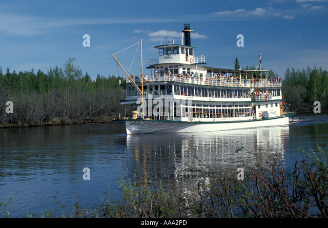 Alaska Fairbanks Discovery III - Stock Image