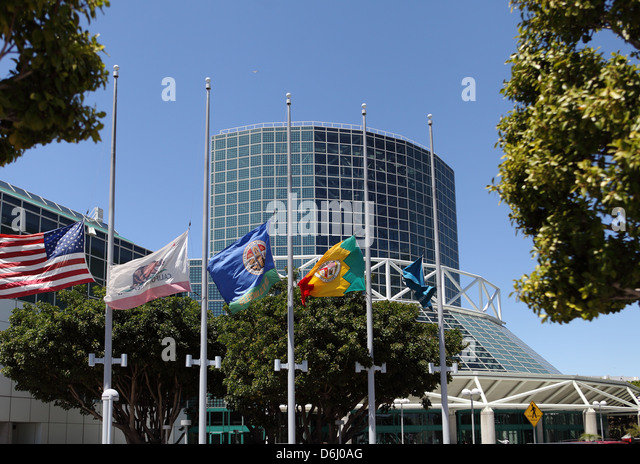 LOS ANGELES, CALIFORNIA, USA - April 16, 2013 - The Convention Center in Downtown Los Angeles on April 16, 2013. - Stock Image