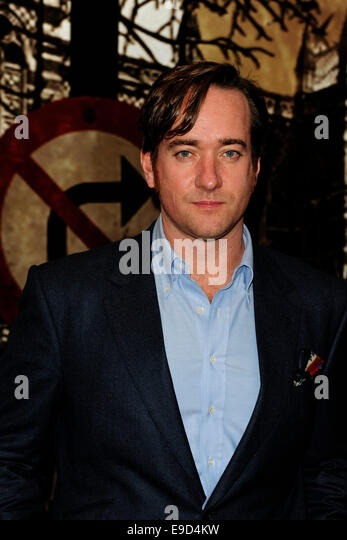 London, UK. 24th Oct, 2014. Matthew MacFadyen attend the Specsavers Crime Thriller Awards 2014 at the Grosvenor - Stock Image
