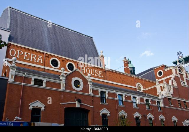 Belfast Grand Opera House skyline Northern Ireland landmark architecture - Stock Image
