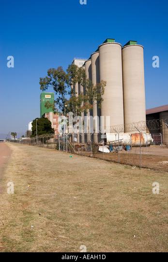 Pretoria city Grain Silos - Stock Image