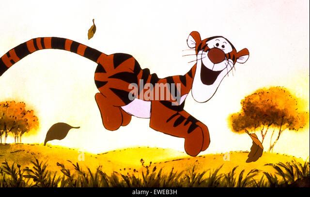 tigger movie - Stock Image