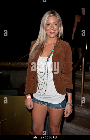 Natalie Getz at arrivals for E3 Red Carpet Launch Party, Suede at the Westin Bonaventure Hotel Downtown LA, Los - Stock Image