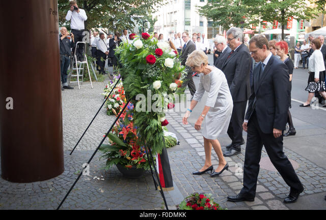 Berlin germany 13th aug 2015 the president of the berlin house of
