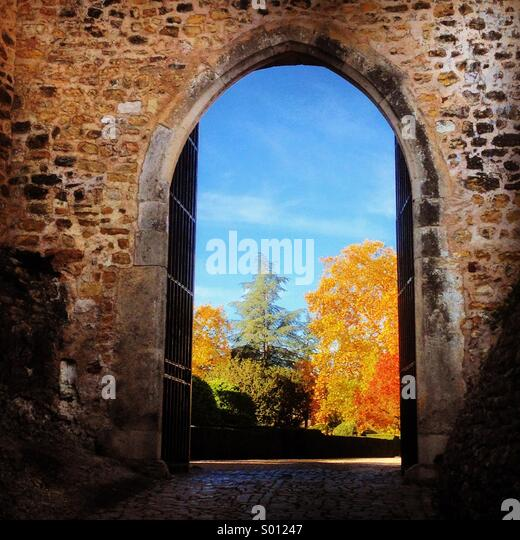 Arch to the Heaven, Tomar, Portugal - Stock Image