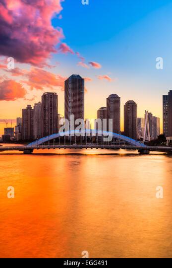 japan tokyo skyscrapers bridge - photo #24