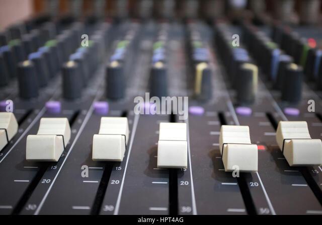 music equalizer background shot - Stock-Bilder