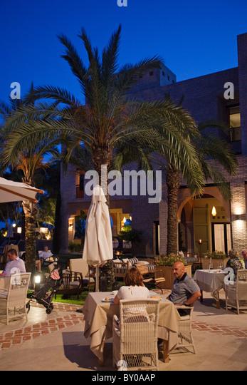 entertainment Hotel Vincci Estrella de Mar Marbella Málaga Andalusía Spain - Stock Image