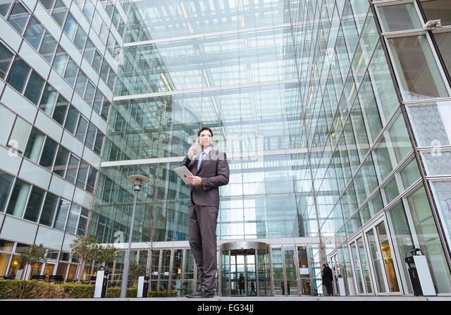 Portrait of a businessman - Stock Image