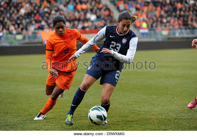 The Hague, Netherlands. 9th April 2013. International Friendly The Netherlands vs USA 9th April 2013  The Americans - Stock-Bilder