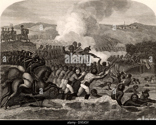 Napoleonic Wars. The Battle of Austerlitz, 2 December 1805. The French victory over Austria and Russia led to the - Stock Image