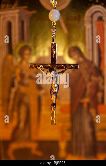 A Crucifix - Stock Image