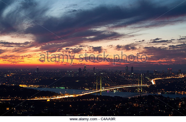Bosporus Bridge - Stock Image