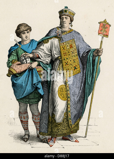Byzantine Emperor - Stock Image