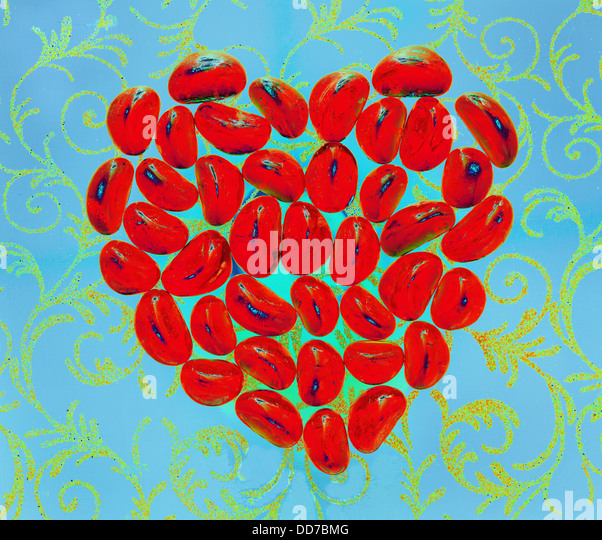 Red Heart - Stock Image