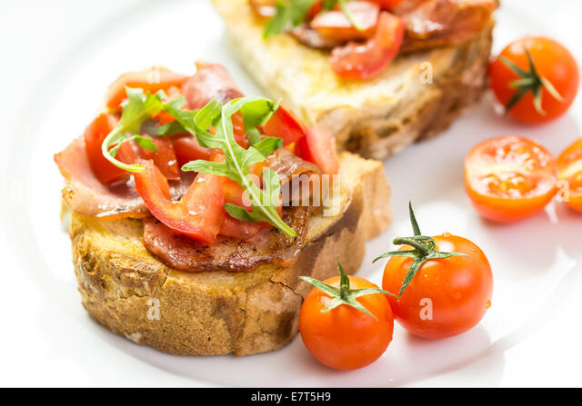 Baguette And Prosciutto Stock Photos & Baguette And ...
