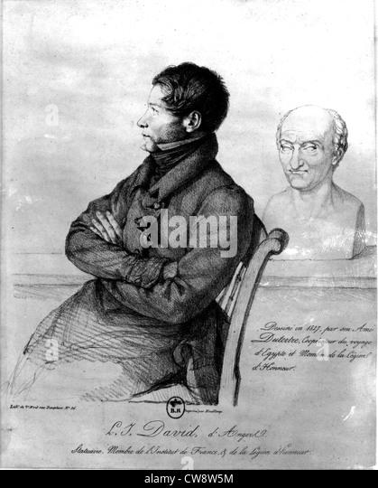 David d'Angers - Stock Image