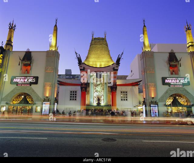 Graumann's Chinese Theater, Los Angeles, California, USA, North America - Stock Image