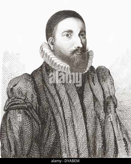 Patrick Forbes, 1564 – 1635. Late 16th and early 17th century Scottish churchman and Bishop of Aberdeen. - Stock Image