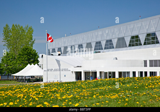 National Aviation Museum, Ottawa, Ontario, Canada - Stock Image
