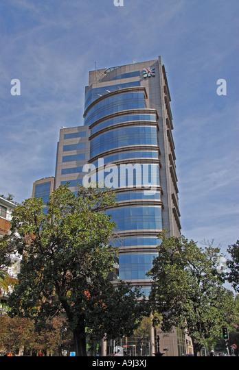 Santiago Chile  Grand Hyatt Santiago luxury Hotel - Stock Image