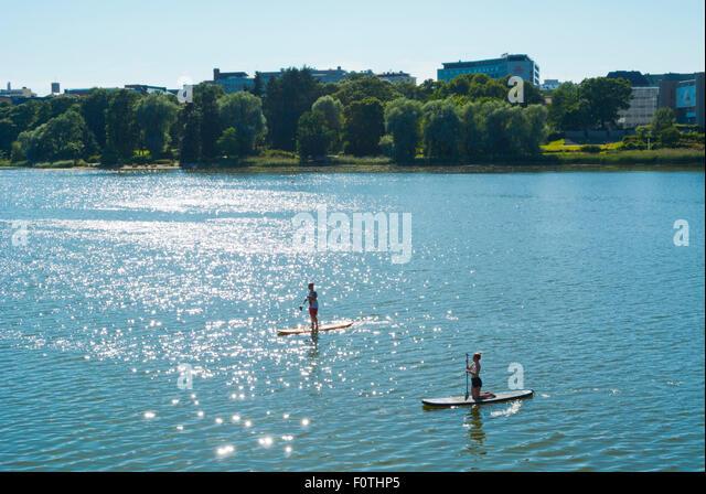 Whitefish City Beach Paddle Board