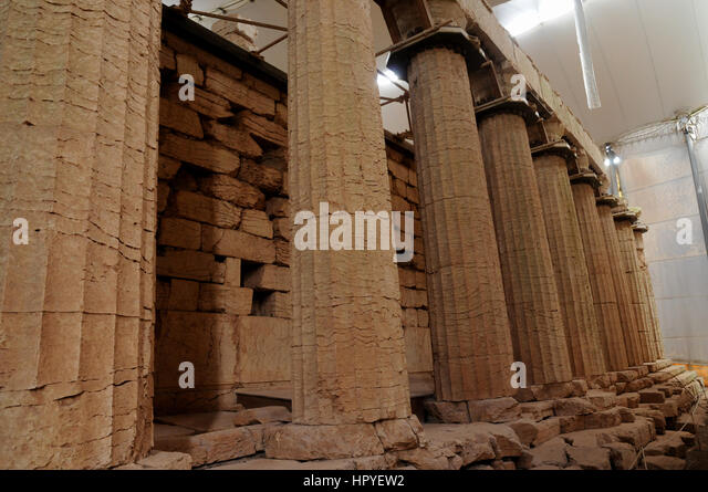Temple Of Apollo Bassae Stock Photos & Temple Of Apollo ...