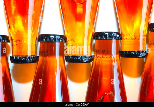 colors,shapes,crown cork,bottle - Stock-Bilder