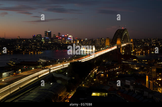 Sydney long exposure - Stock Image