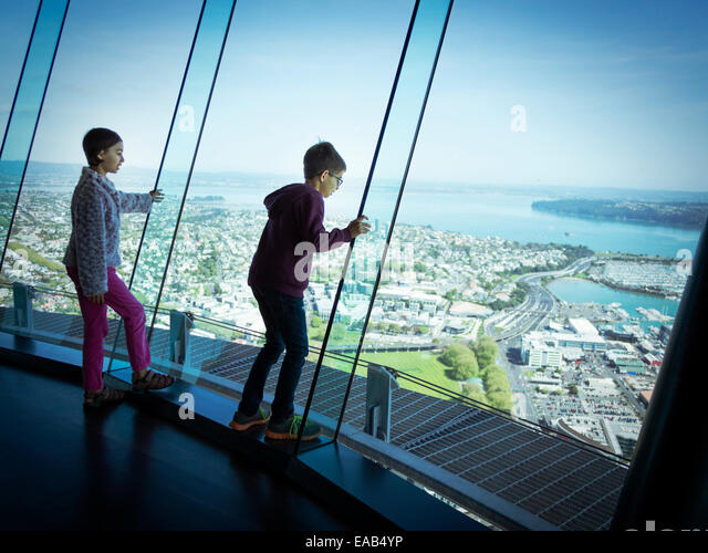 MR. No apparent photography or PR restrictions on Skytower website or ticket. - Stock Image