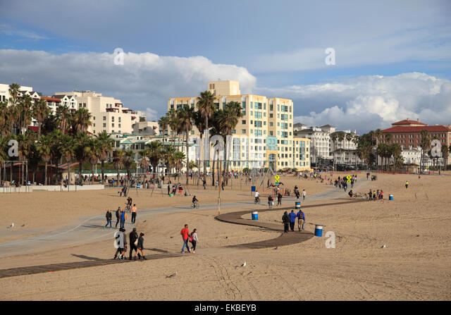Santa Monica, Los Angeles, California, United States of America, North America - Stock Image