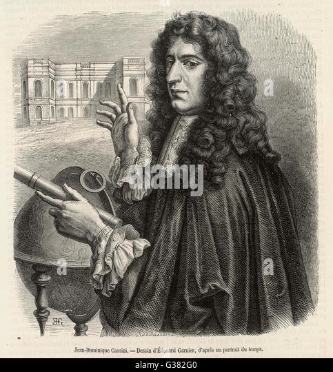 Giovanni Domenico Cassini Stock Photos & Giovanni Domenico ...