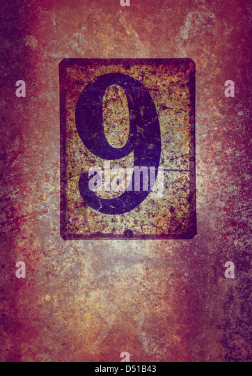 grunge 9 - Stock Image