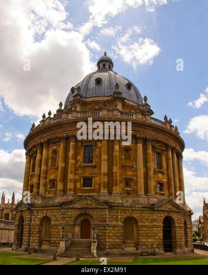 Radcliffe Camera, Oxford University United Kingdom - Stock Image