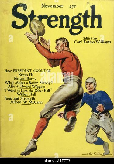 American Football 1923 - Stock Image