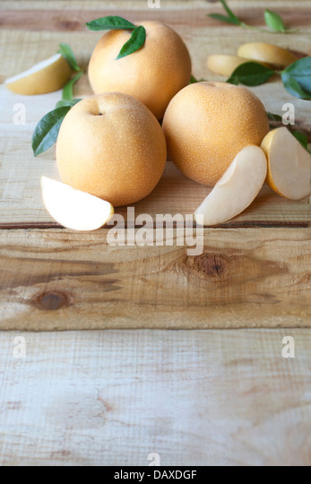 Pear still life - Stock Image