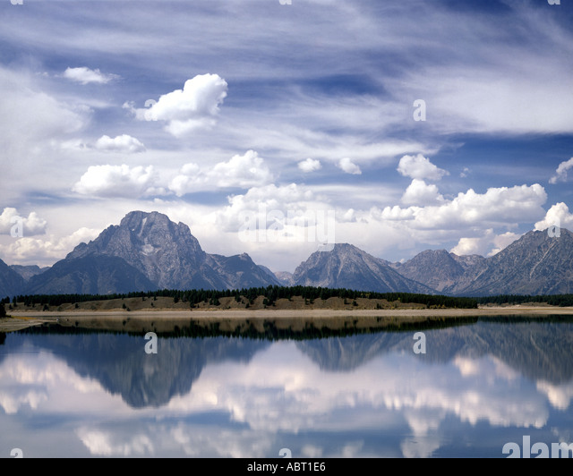 USA - WYOMING: Grand Tetons National Park - Stock Image