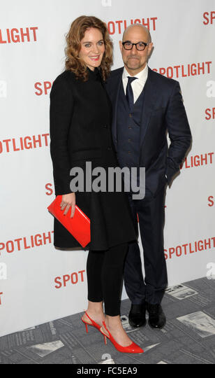 London, UK. 20th January, 2016. Stanley Tucci attending the UK Premiere of SPOTLIGHT at Curzon Mayfair London 20 - Stock Image