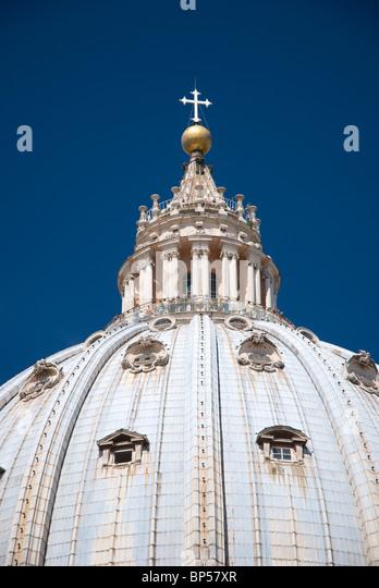 St. Peter's Basilica, Rome - Stock Image