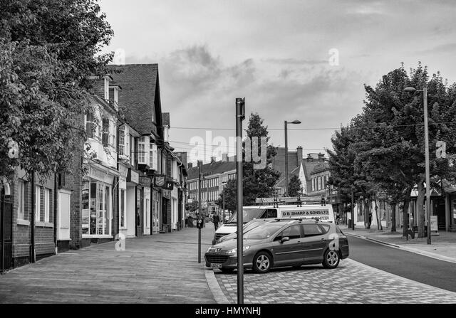 Twon Centre, Letchworth England - Stock Image