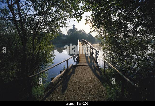 Seeon Abbey, Seeon-Seebruck, Chiemgau, Bavaria, Germany - Stock Image