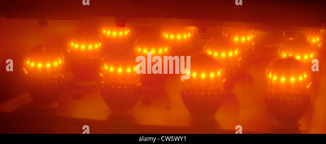 Switch LED light bulb, Switch lab, San Jose California. - Stock Image