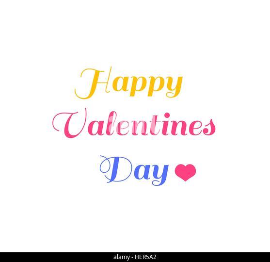 Valentines Day Vintage Lettering Background. Valentines day vintage lettering background. Happy Valentines Day card. - Stock-Bilder