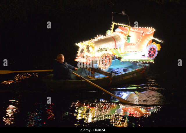 Matlock Bath Illuminations - Stock Image