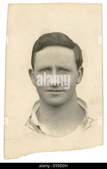 George Carstairs, back for St George, c. 1920s - Stock Image