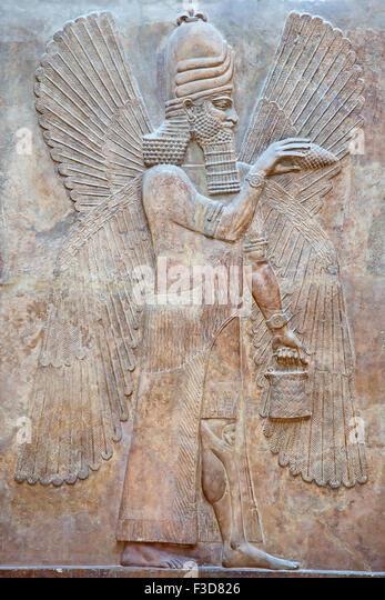 Sumerian bull stock photos images